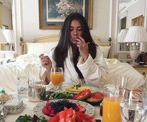 breakfast, luxury, and food image