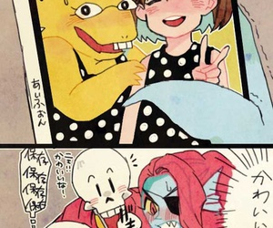 Undertale #Sans #Papyrus #Undyne #Alphyse on We Heart It
