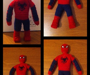 crochet and spiderman image