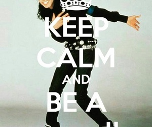 keep calm, michael jackson, and mj image