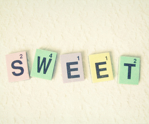 sweet, pastel, and text image