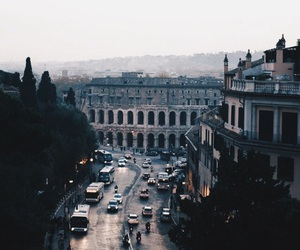 city, rome, and travel image