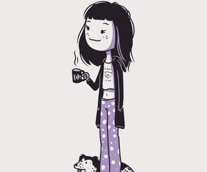 arte, Ilustration, and pijama image