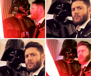 actor, dean winchester, and Jensen Ackles image