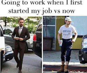 funny, job, and work image