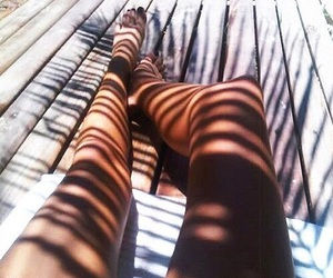 fashion, palms, and girl image