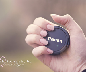 canon, girl, and hand image