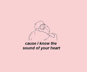 pink, heart, and quotes image