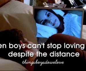 distance, things boys do we love, and love image