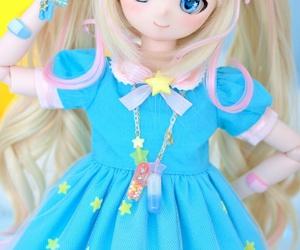 anime, doll, and girl image