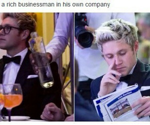 businessman, lol, and text image