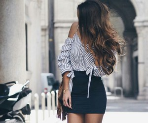 skirt and stripes image