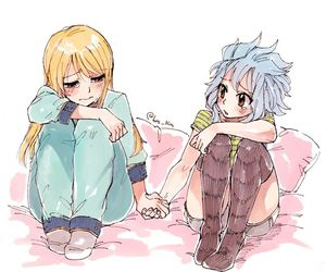 fairy tail, Lucy, and levy image