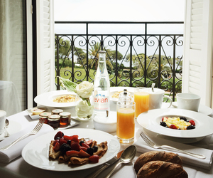 berries, bread, and breakfast image