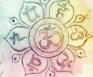 om and peace image