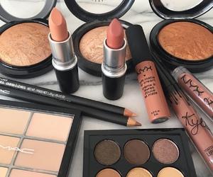 lipstick, make up, and beautiful image