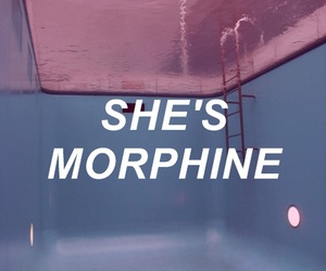 morphine, blue, and pink image