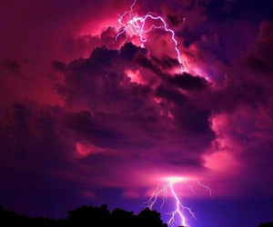 clouds, nature, and purple image