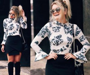 fashion blogger, girl, and inspiration image