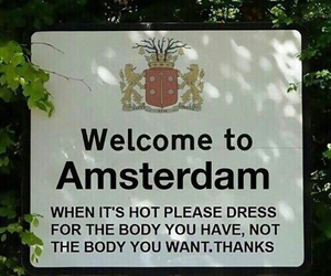 funny, amsterdam, and Hot image