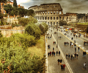 photography, beautiful, and colosseo image