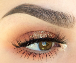 beauty, brown eyes, and elegance image