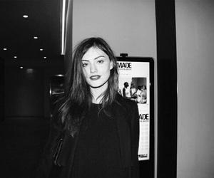 girl, phoebe tonkin, and black and white image