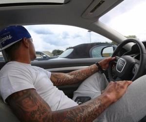 tattoo, car, and audi image