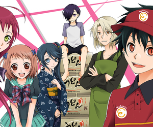 anime and the devil is a part timer image