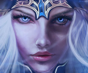 ashe, league of legends, and lol image