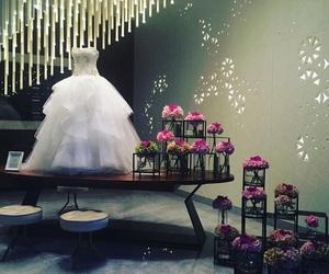 bride, dress, and fashion image