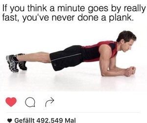 fitness, plank, and planks image
