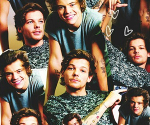 Harry Styles, louis tomlinson, and larry stylinson image