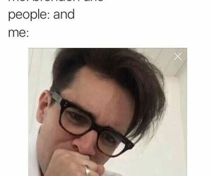 brendon urie, panic! at the disco, and band image