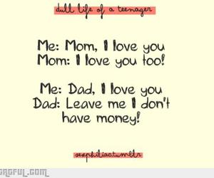 dad, money, and funny image