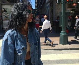 fashion, girl, and street image