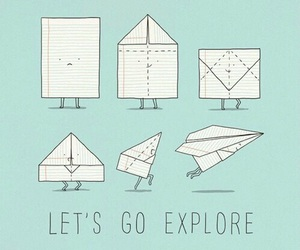 explore, Paper, and funny image