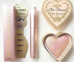 makeup, beautiful, and pink image