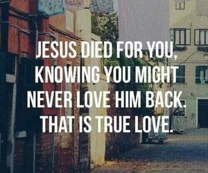 jesus, love, and true love image