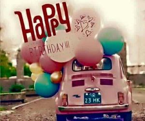 birthday, car, and card image