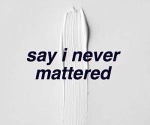sad, Lyrics, and quote image