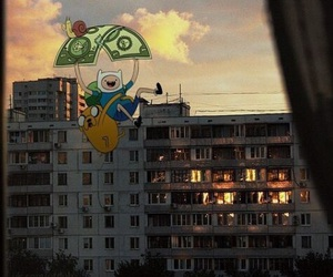 city, dollar, and real life image