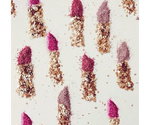 sparkle, girly, and lipstick image