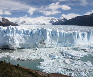 argentina, glacier, and places image