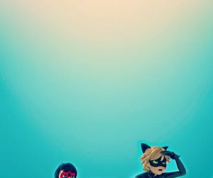ladybug, Chat Noir, and wallpaper image