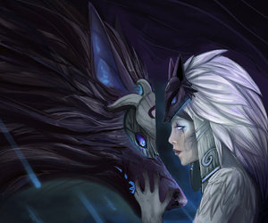 fanart, kindred, and lol image