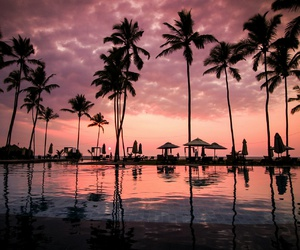 beach, beautiful, and vacations image