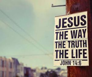 jesus, life, and truth image