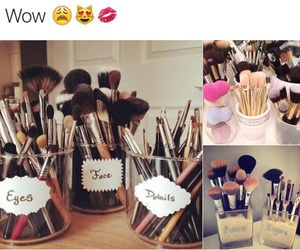 Brushes, fashion, and make up image