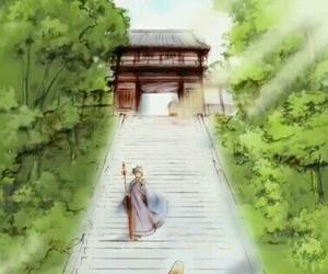 inuyasha, miroku, and sango image